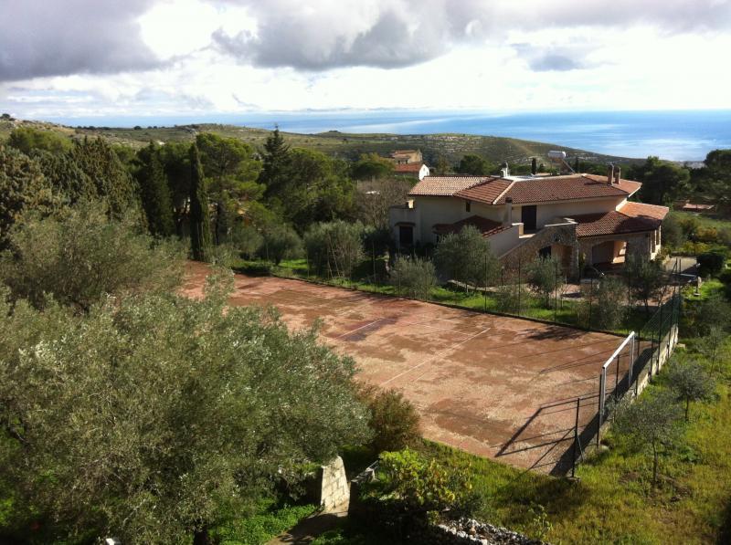 View from the terrace Location Villa 64759 Avola
