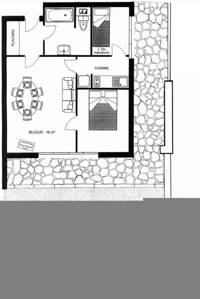 Map of property Location Apartment 76183 Cabourg