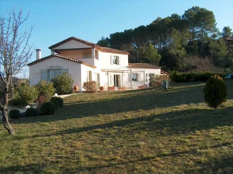 View of the property from outside Location Villa 83534 Anduze