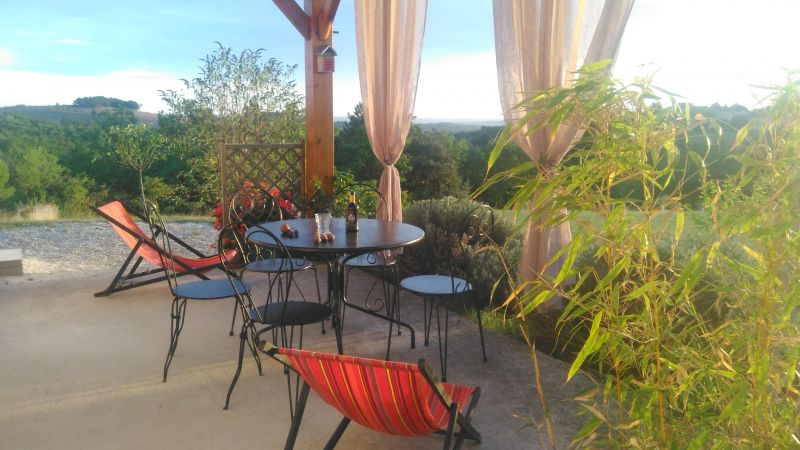View from the terrace Location House 83784 Salignac-Eyvignes