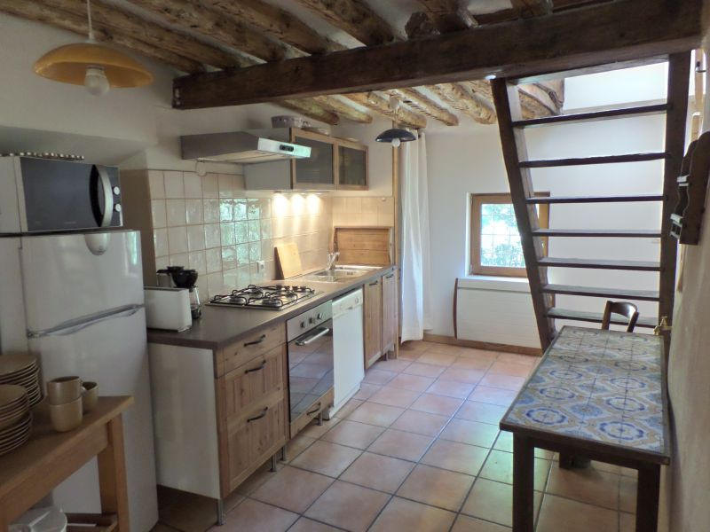 Open-plan kitchen Location House 90691 Serre Chevalier