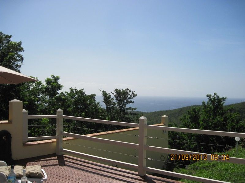 View from the terrace Location Bungalow 93723 Le Diamant