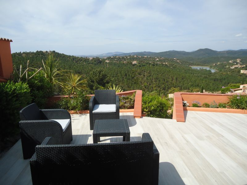 View from the terrace Location House 100590 La Londe les Maures
