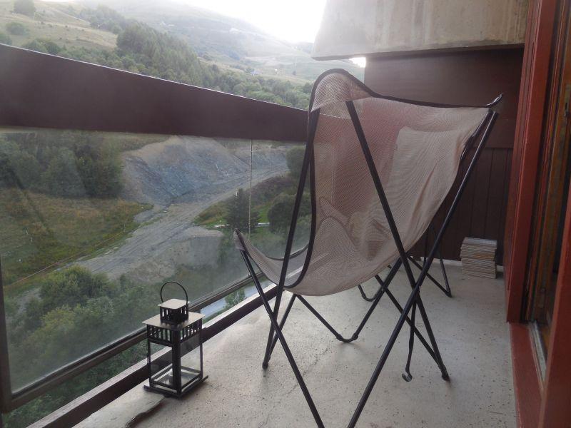 Terrace Location Apartment 106400 Le Corbier