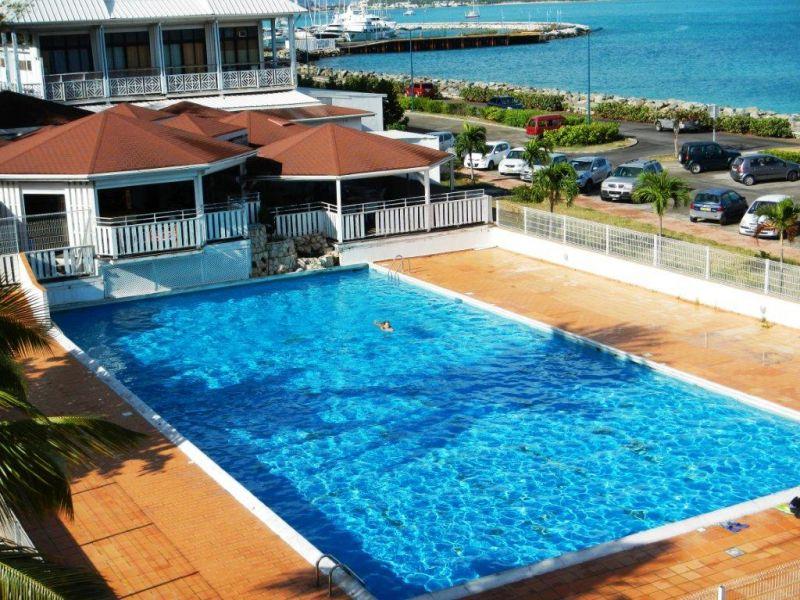 Swimming pool Location One-room apartment 108428 Marigot