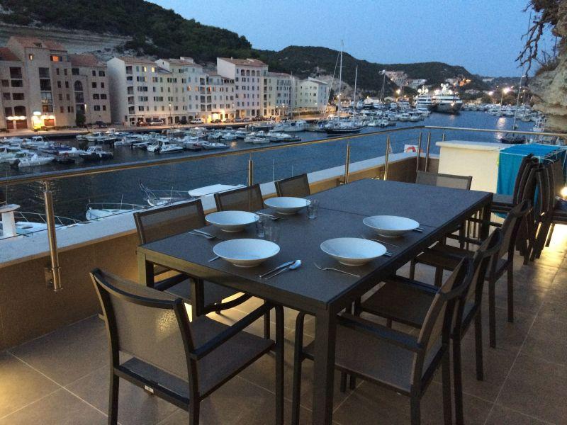 View from the terrace Location Apartment 115112 Bonifacio