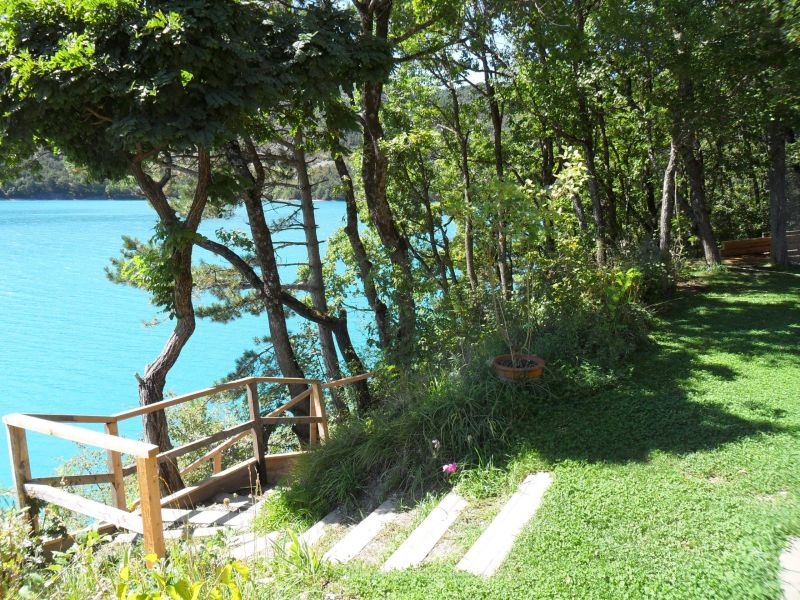 View from the property Location Vacation rental 116875 Castellane