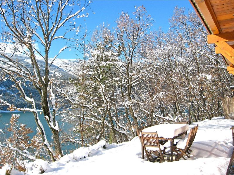 View from the terrace Location Vacation rental 116875 Castellane