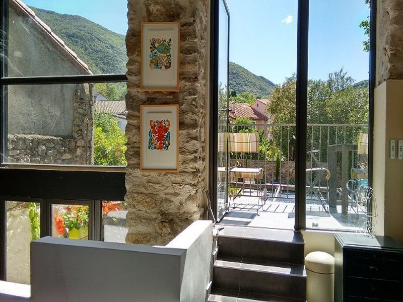 View from the balcony Location House 117480 Ceret
