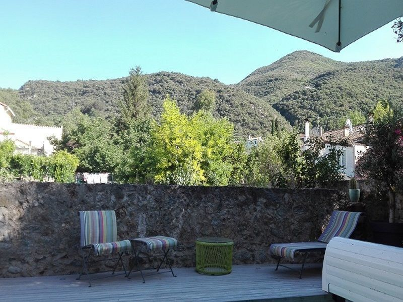 View from the terrace Location House 117480 Ceret