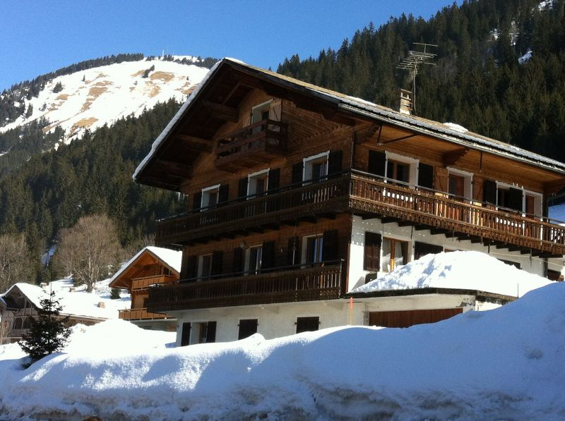 View of the property from outside Location Apartment 117683 Châtel