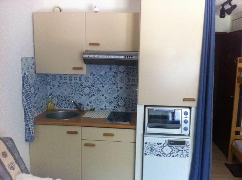 Kitchenette Location One-room apartment 73671 Les Carroz d'Araches