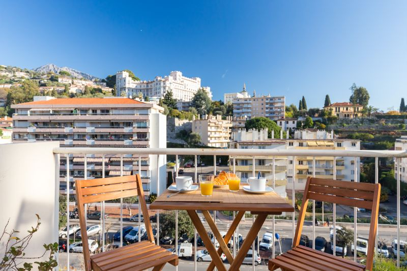 View from the balcony Location Apartment 77050 Menton
