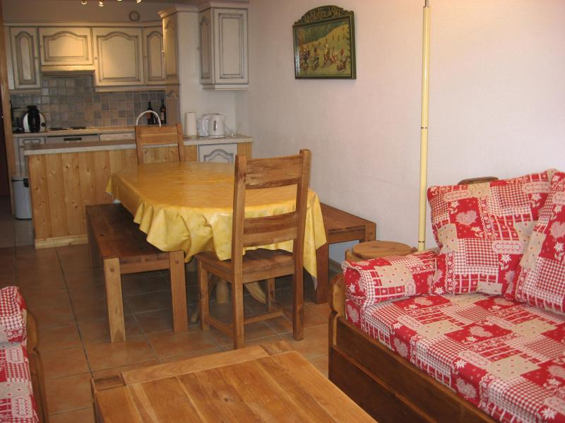 Dining room Location Apartment 79745 La Plagne