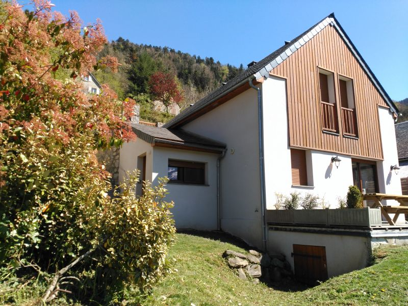View of the property from outside Location Vacation rental 80216 Saint Lary Soulan