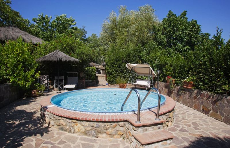 Swimming pool Location Vacation rental 80622 Gavorrano