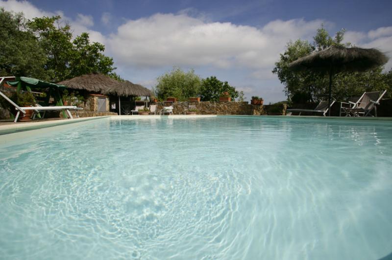 Swimming pool Location Vacation rental 80622 Gavorrano