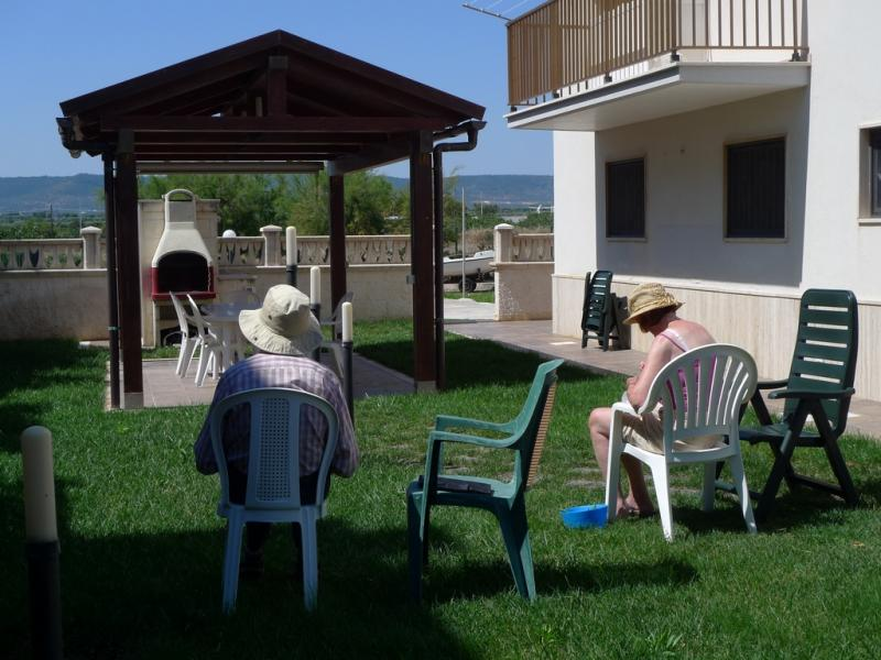 Porch Location Apartment 84301 Torre Canne