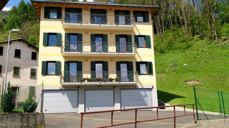 View of the property from outside Location Apartment 85967 Auronzo di Cadore
