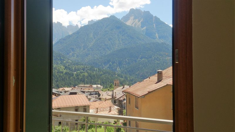 View from the balcony Location Apartment 85967 Auronzo di Cadore
