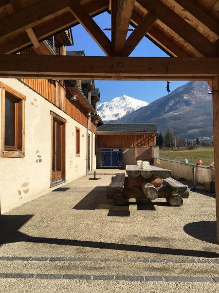 Terrace Location Chalet 88148 Luz Saint Sauveur