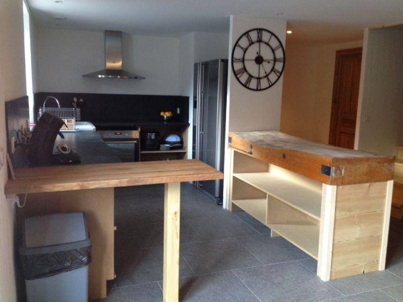Open-plan kitchen Location Chalet 88148 Luz Saint Sauveur