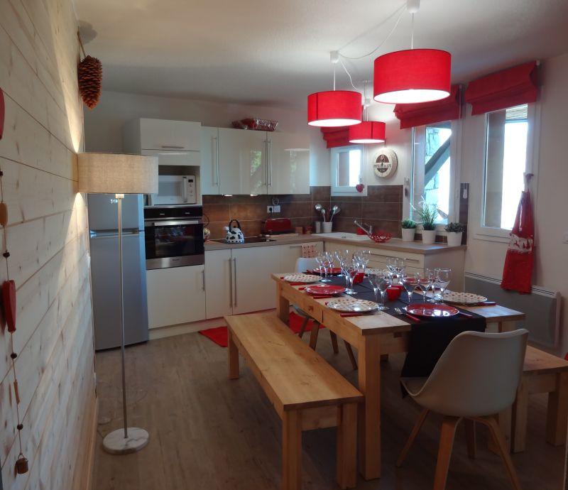 Open-plan kitchen Location Apartment 108308 Montchavin les Coches