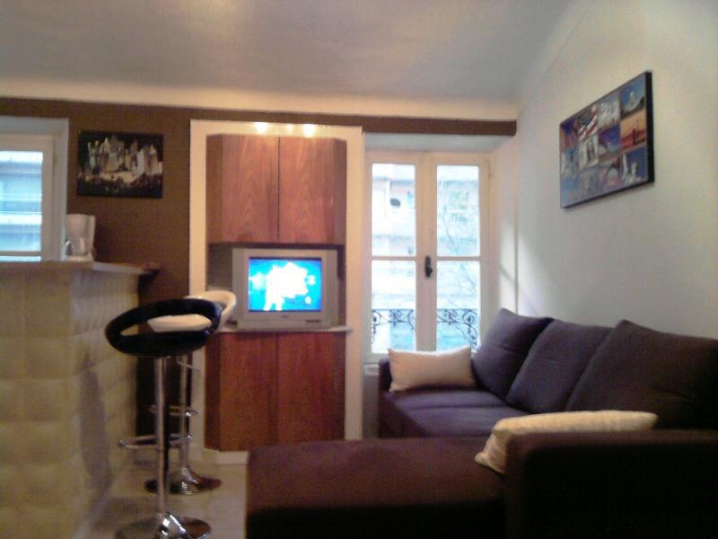 Living room Location Apartment 67348 Nice