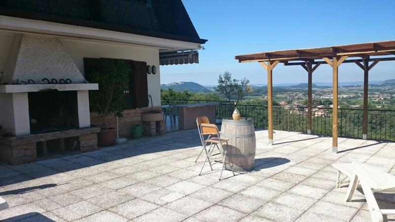 View from the terrace Location Apartment 69089 Caprino Veronese
