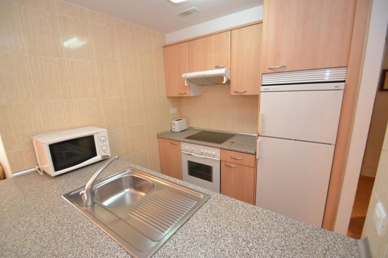 Open-plan kitchen Location Apartment 70004 La Pineda