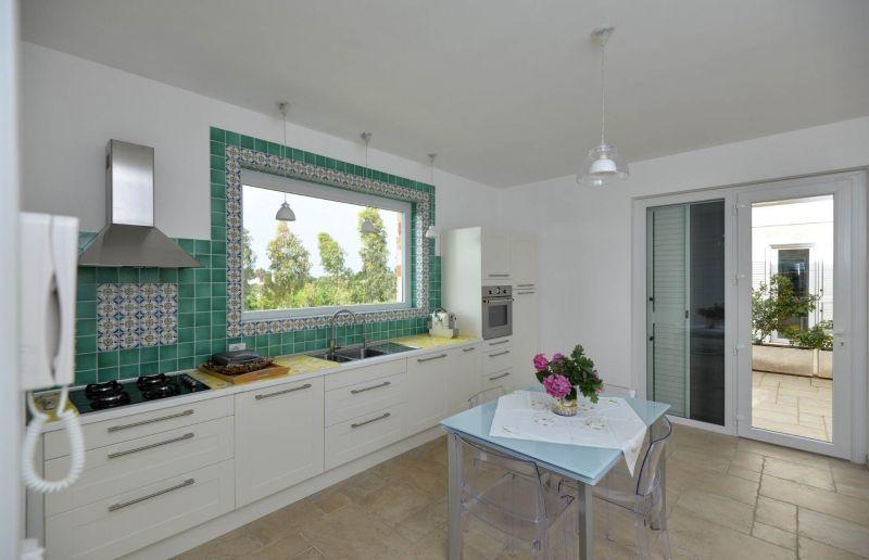Open-plan kitchen Location Villa 70846 Polignano a Mare