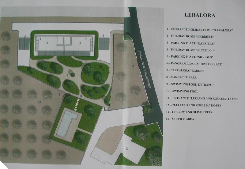 Area map Location Villa 70846 Polignano a Mare