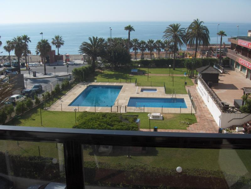 View from the terrace Location Apartment 76001 Benalmádena