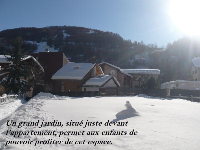 Garden Location Apartment 88191 Valloire