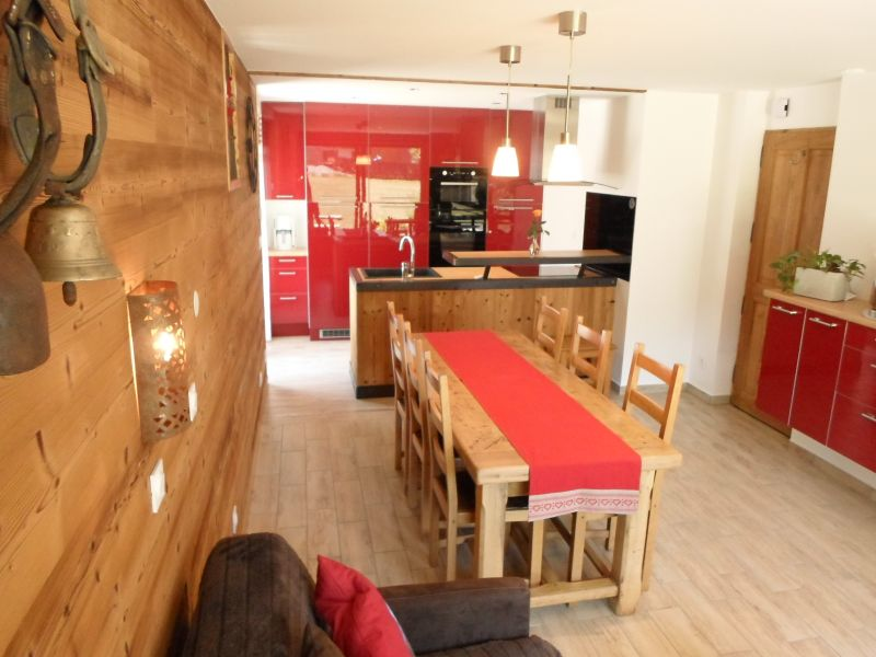 Living room Location Apartment 88191 Valloire