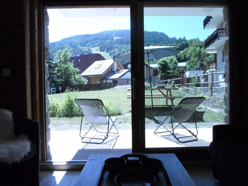 View from the terrace Location Apartment 88191 Valloire