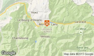 Map Les 2 Alpes Chalet 93861