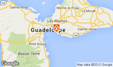 Map Gosier (Guadeloupe) Apartment 8006