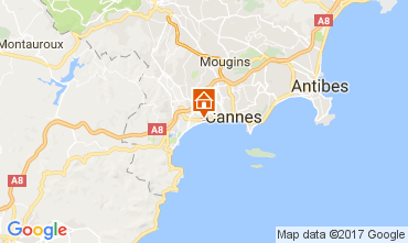 Map Cannes Apartment 111222