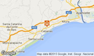 Map Tavira Villa 64935