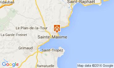 Map Sainte Maxime House 104932