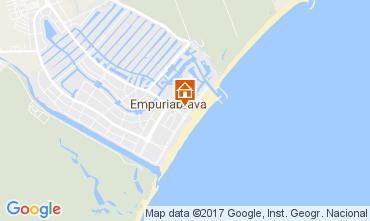 Map Empuriabrava Apartment 108019