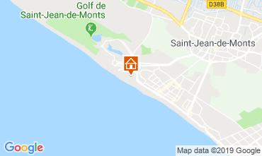 Map Saint Jean de Monts One-room apartment 119547