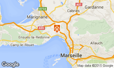 Map Marseille Vacation rental 5959