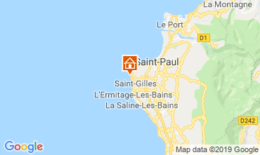 Map Saint Gilles Villa 70449