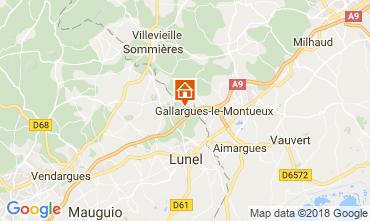 Map La Grande Motte Villa 113402