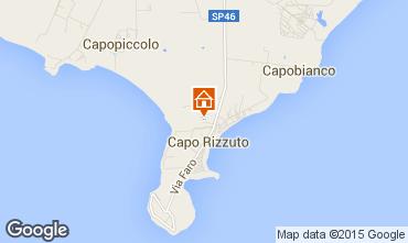 Map Isola di Capo Rizzuto Apartment 61892