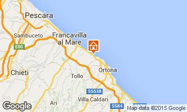 Map Ortona Apartment 85745