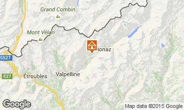 Map Bionaz Apartment 86799