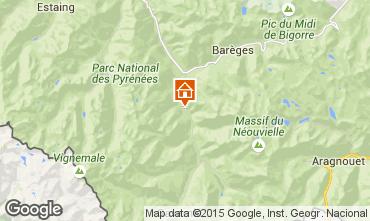 Map Luz Saint Sauveur Chalet 66782